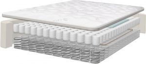 organic cotton cover on the Saatva mattress
