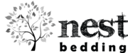 Logo for Nest bedding
