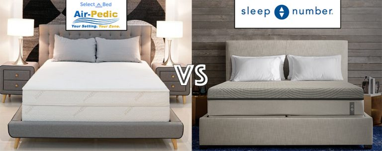 Sleep Number Bed Review and i8 Bed Comparison Vs. The Air-Pedic 800