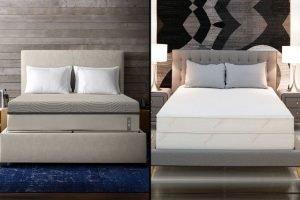 Sleep Number i8 vs Air-Pedic 800 air bed comparison review