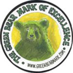 the Green Bear Mark of Excellence logo