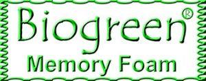 Biogreen memory foam