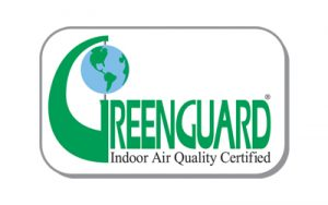 Greenguard certified label