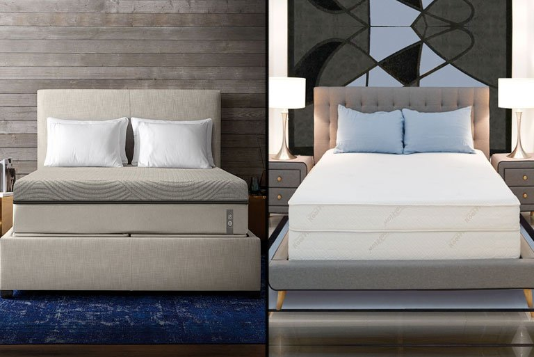 Sleep Number i8/ILE vs Air-Pedic 850