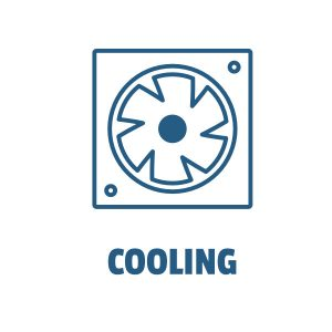 Cooling Title Image Button White