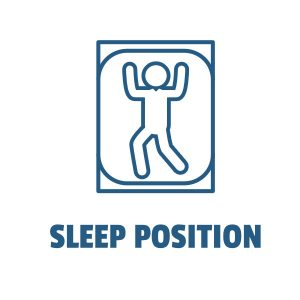 Sleep Position Title Image Button White