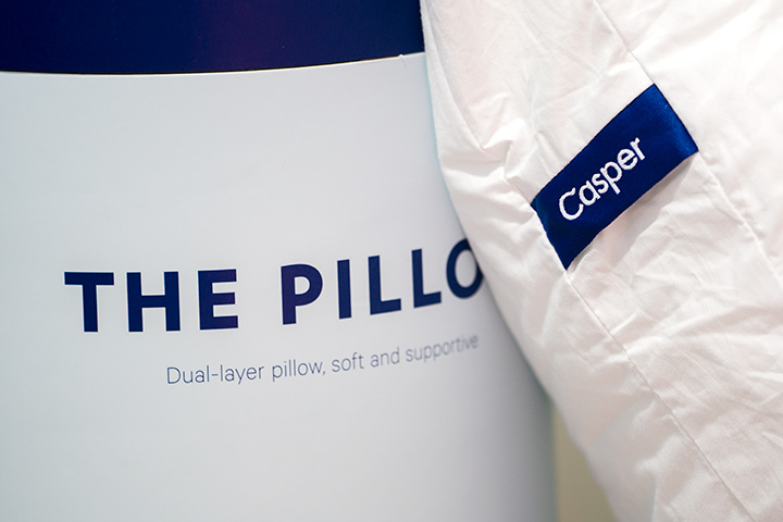 Casper Pillow Review Close Up