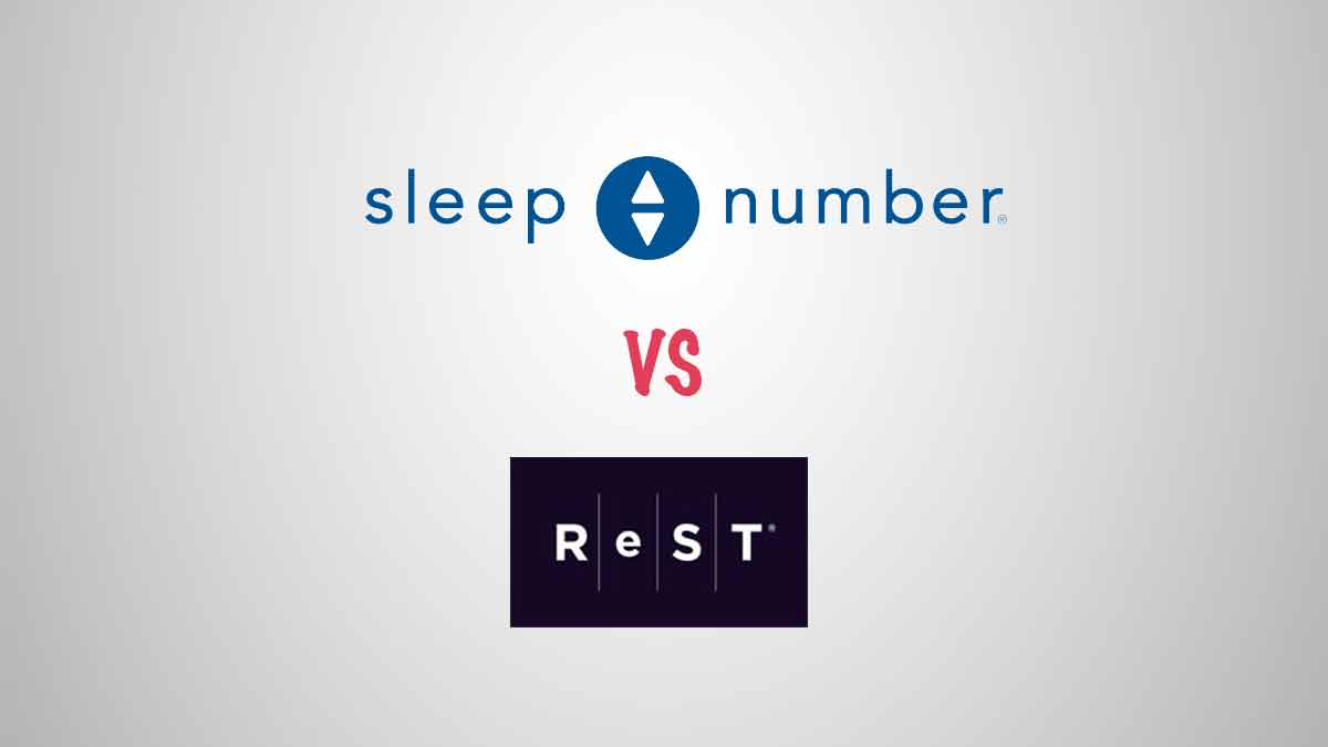 Read more about the article Sleep Number vs ReST Performance Smart Mattress Comparison