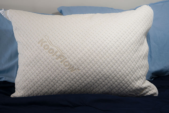 Snuggle-Pedic Pillow Review picture of pillow