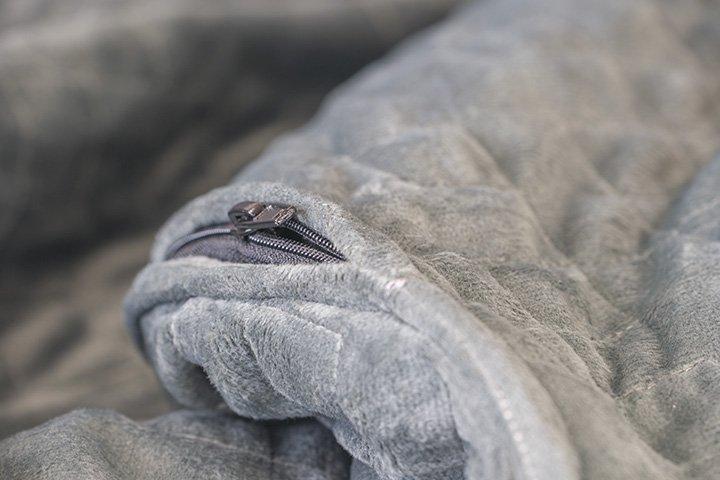 Gravity Blanket Close Up Zip