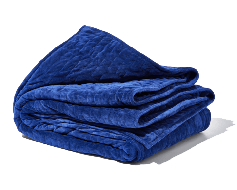Gravity Weighted Blanket in blue