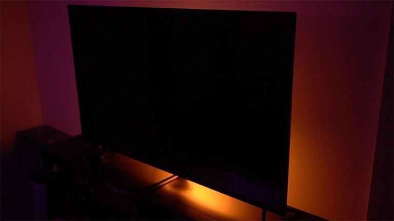 sleep smarter, add lights to your TV