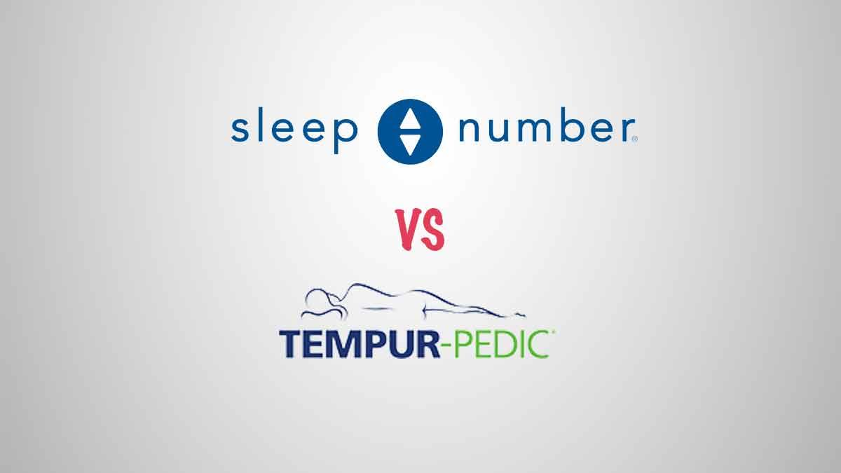 Sleep Number vs Tempur-Pedic Mattress Comparison (Buyer's Guide)