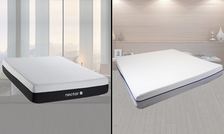 Nectar vs Purple Mattress Review and Comparison