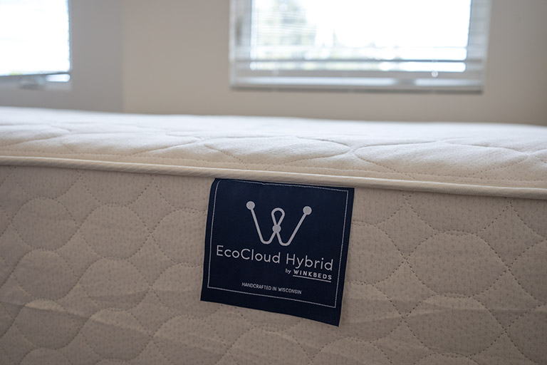 WinkBed's EcoCloud Organic Latex Hybrid