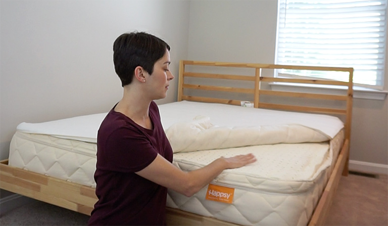 Happsy Mattress Review | Is This Organic Hybrid Right For You?