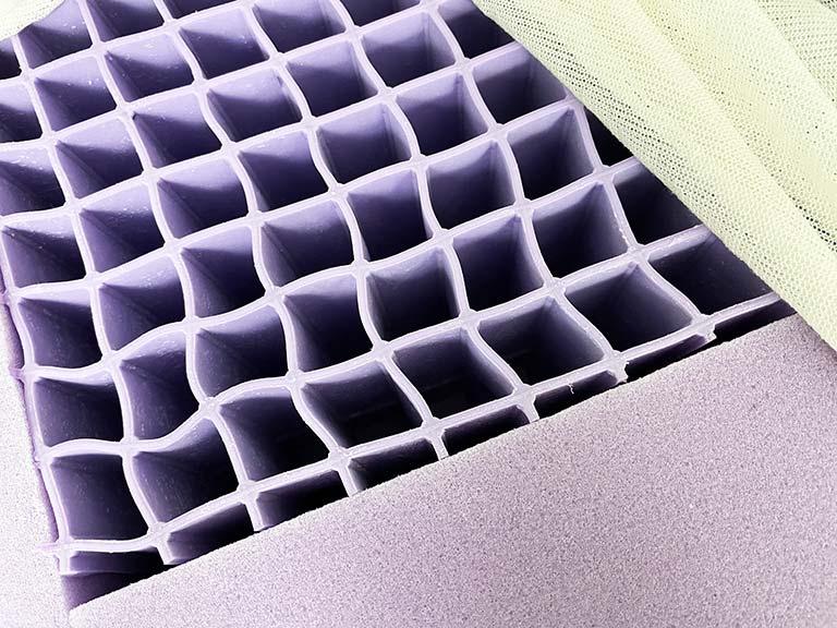 Inside look at the Purple Grid in Purple Hybrid Premier Mattress