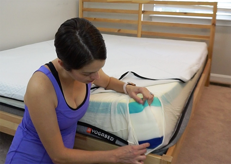 Yogabed Mattress Review - Layers of the YogaComfort System