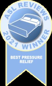 Best Mattress for Pressure Relief 2021 ribbon