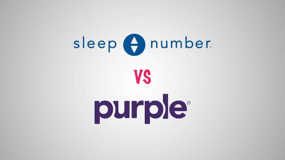 Sleep Number vs Purple mattress comparison